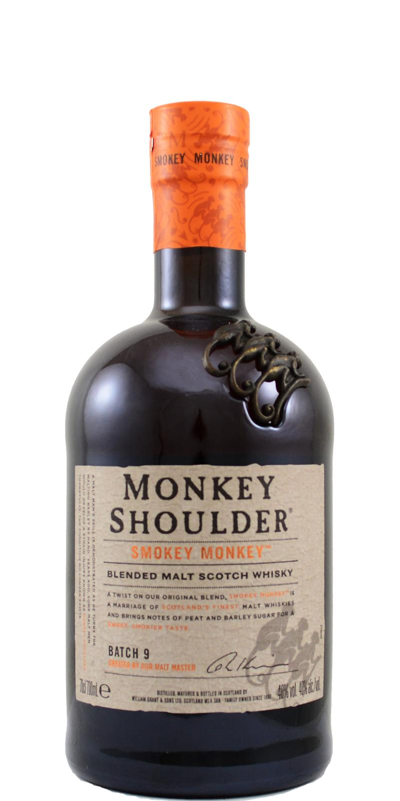 Monkey Shoulder Batch 9 - Smokey Monkey