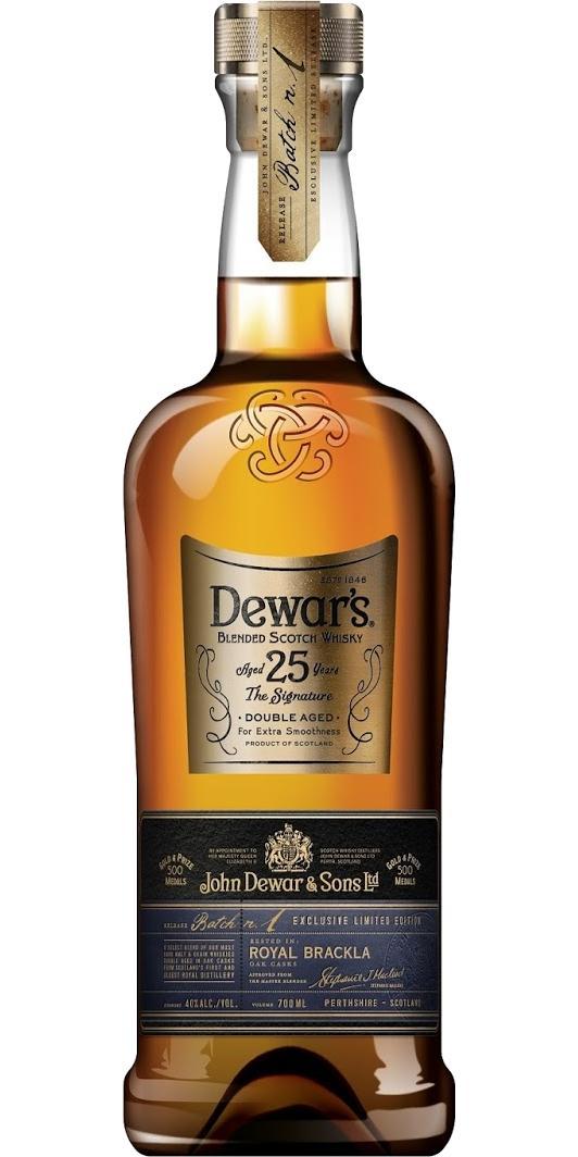 Dewar's 25-year-old