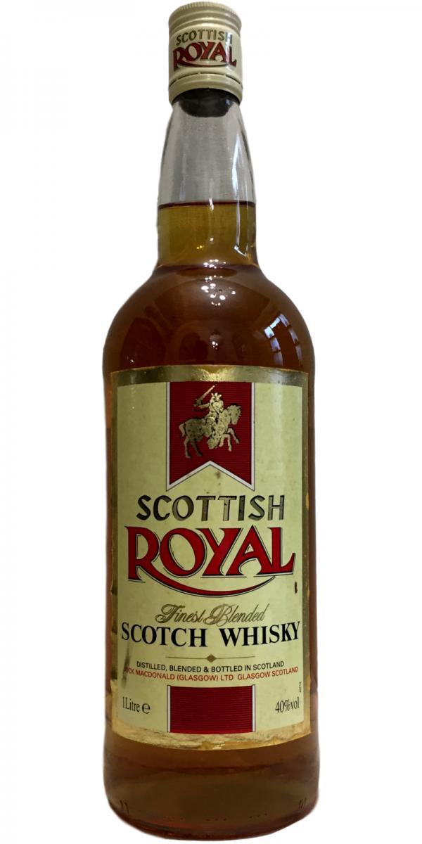 Scottish Royal Finest Blended Scotch Whisky