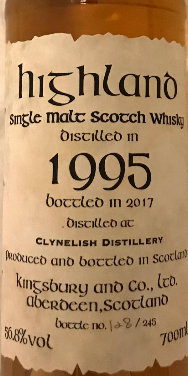Clynelish 1995 Kb