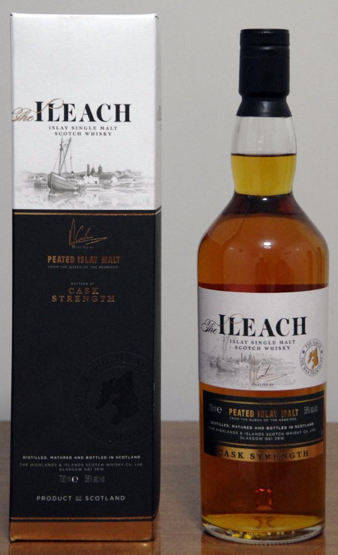 The Ileach Peated Islay Malt H&I