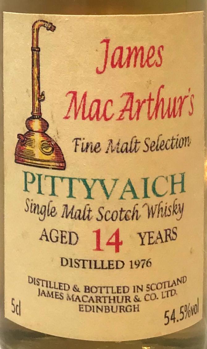 Pittyvaich 1976 JM