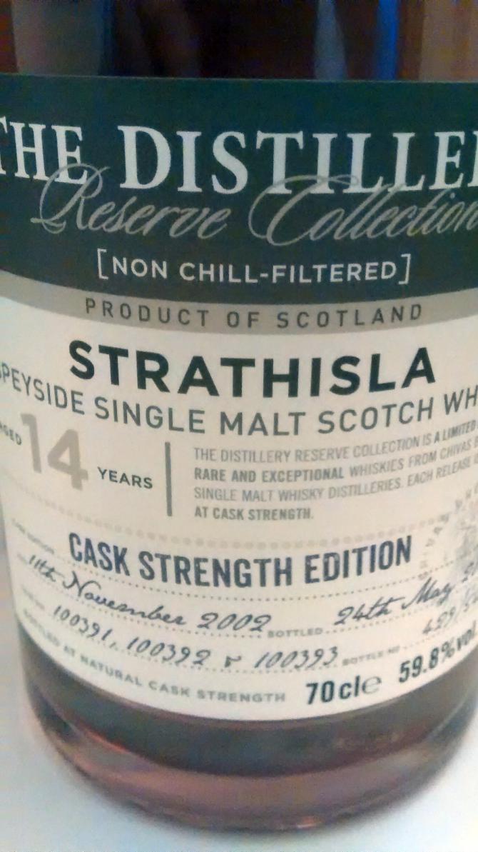 Strathisla 2002