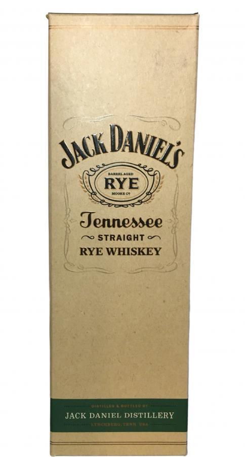 Jack Daniel's Tennessee Straight Rye