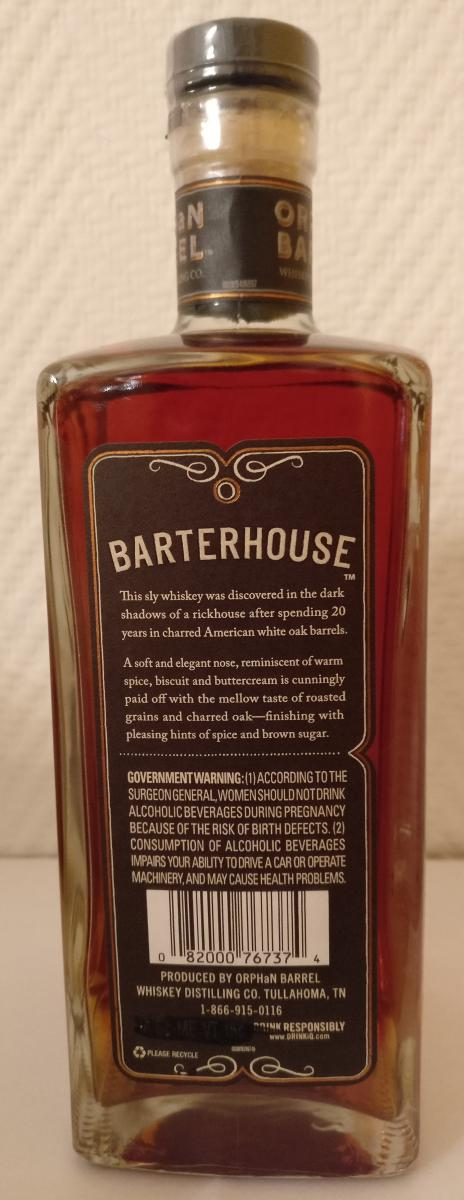 Barterhouse 20-year-old OrBa