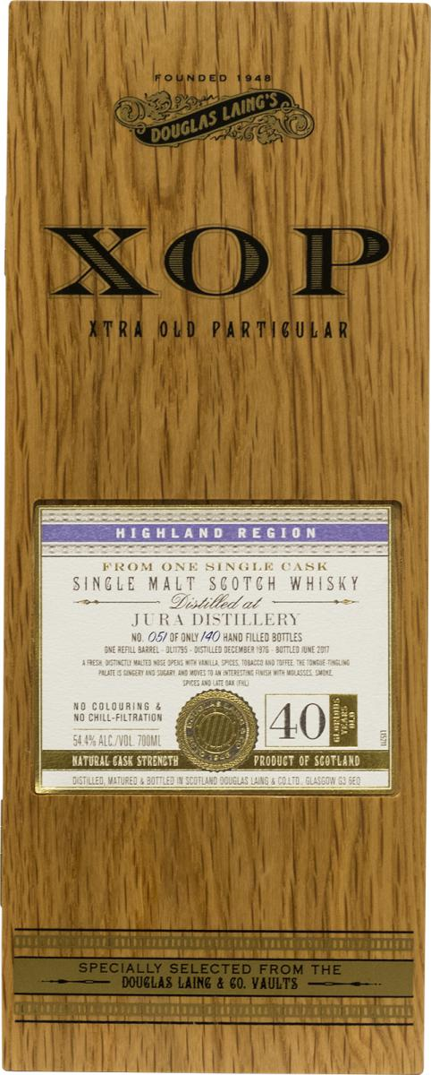 Isle of Jura 1976 DL