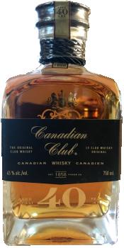 Canadian Club 40-year-old