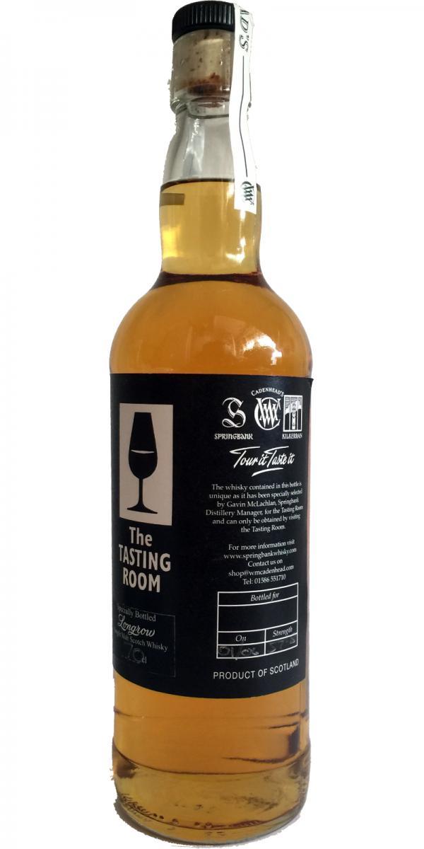 Longrow The Tasting Room