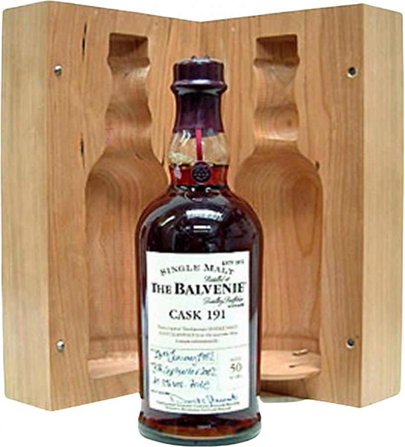Balvenie 1952 - Cask 191
