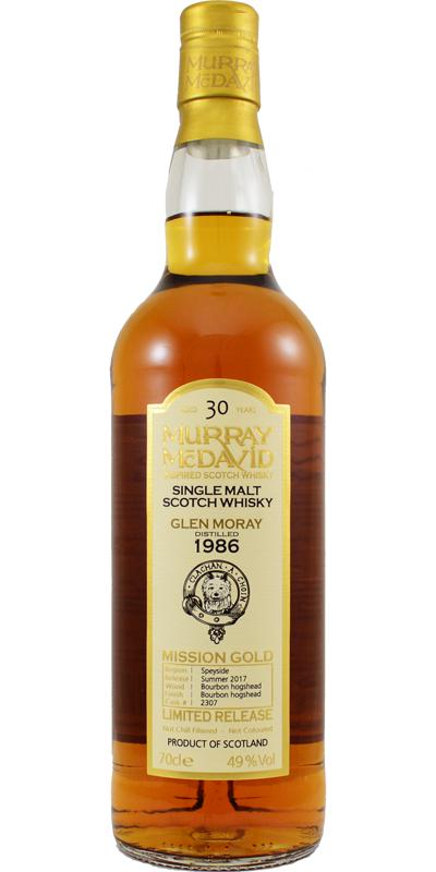 Glen Moray 1986 MM