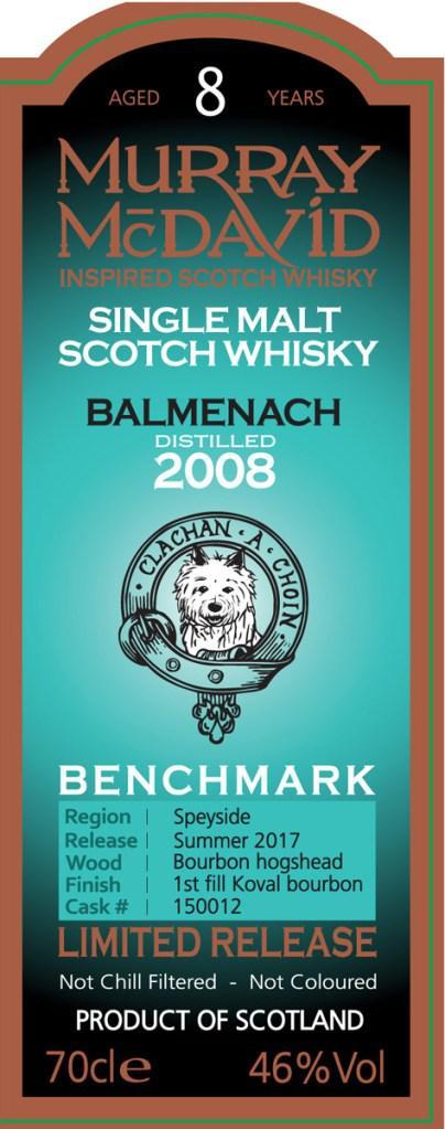 Balmenach 2008 MM
