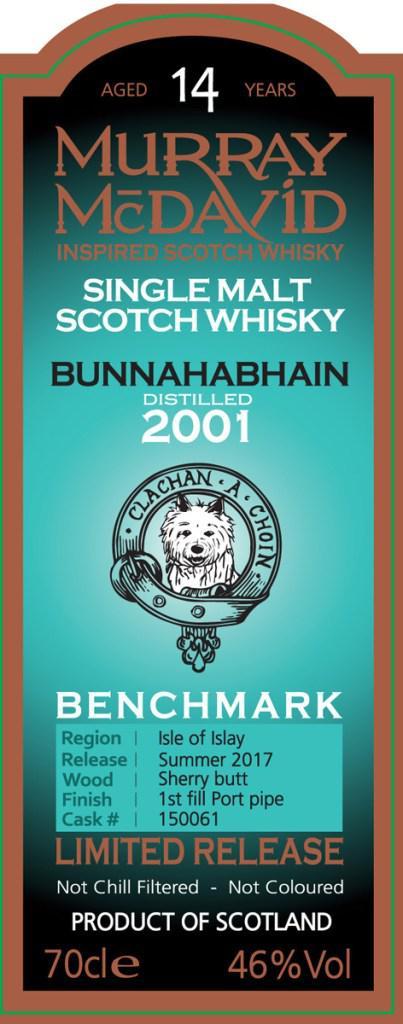 Bunnahabhain 2001 MM