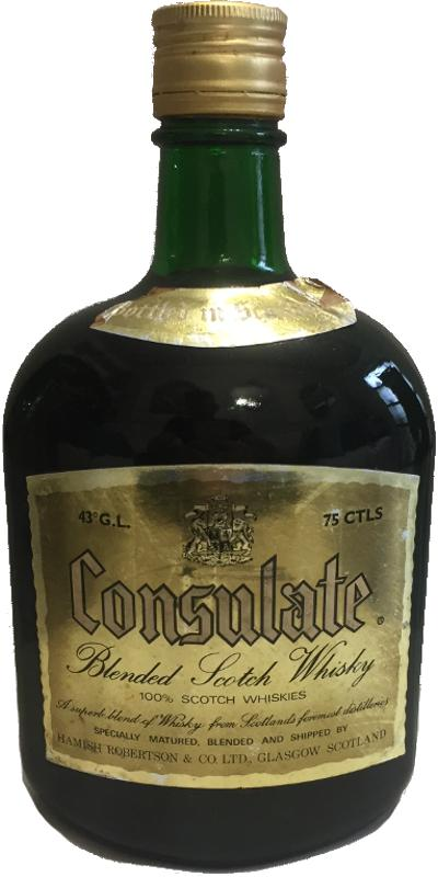 Consulate Blended Scotch Whisky
