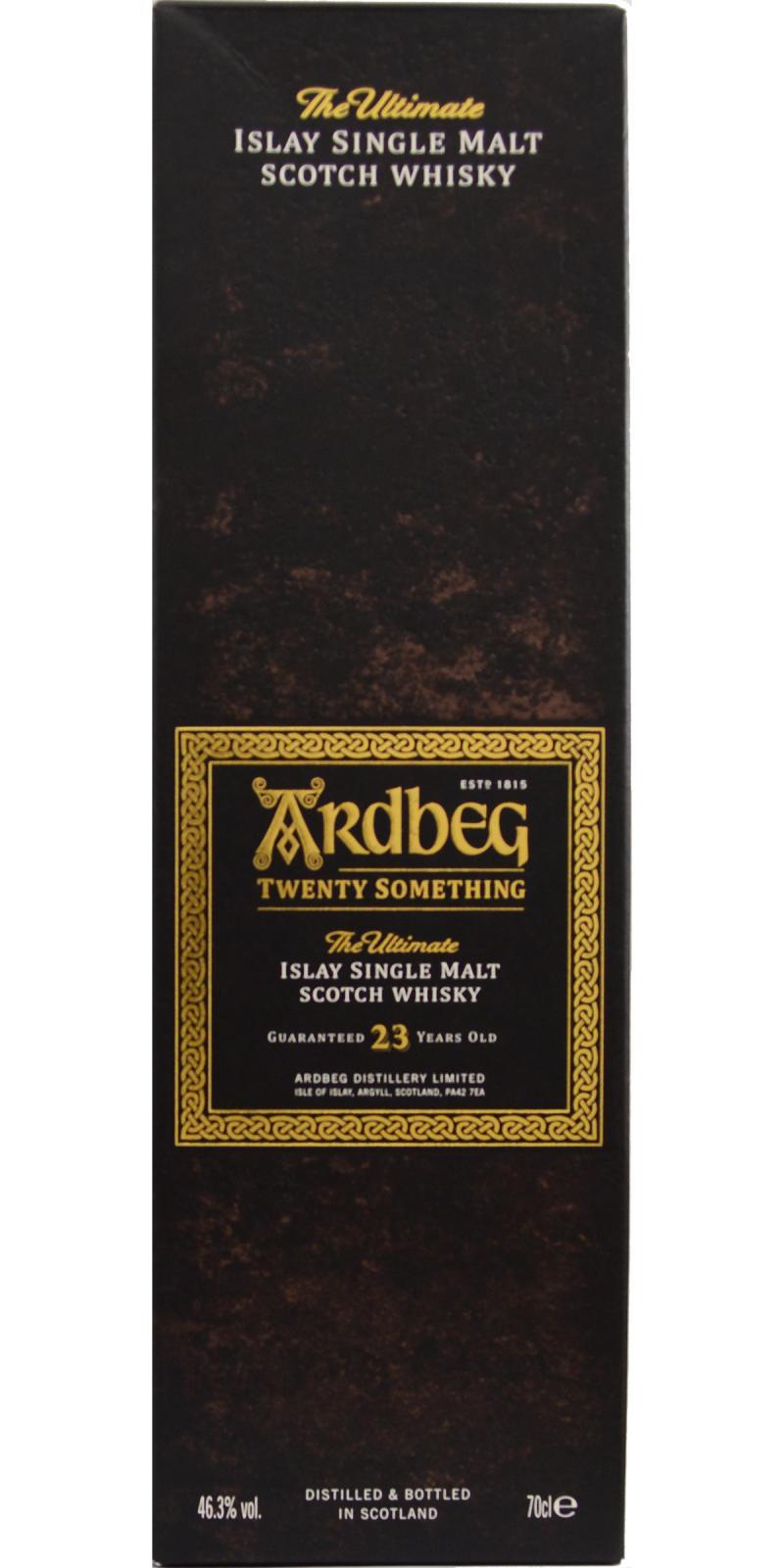 Ardbeg Twenty Something
