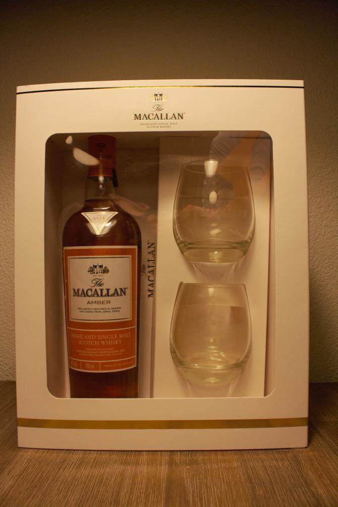 Macallan Amber - Giftset