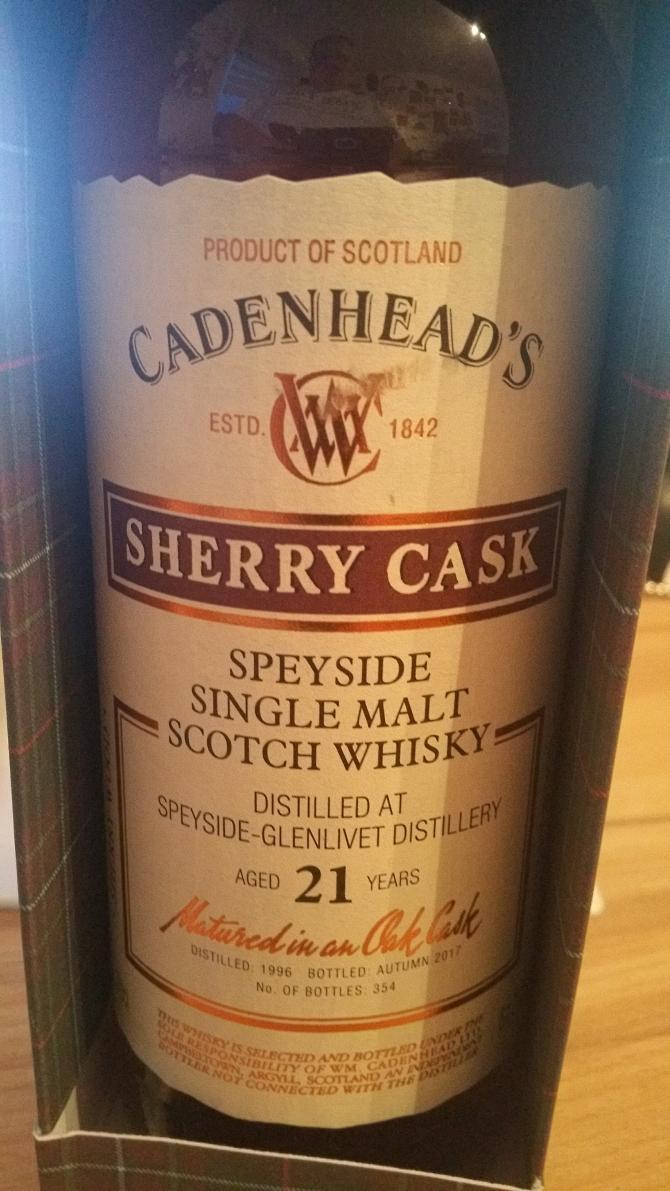 Speyside Distillery 1996 CA