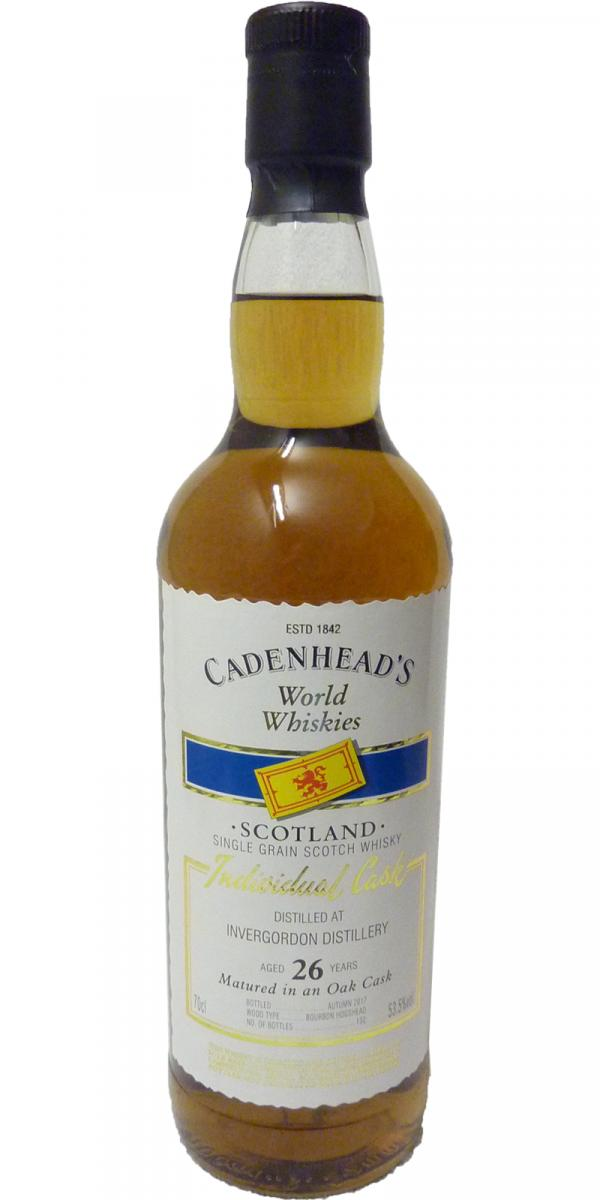Invergordon 26-year-old CA