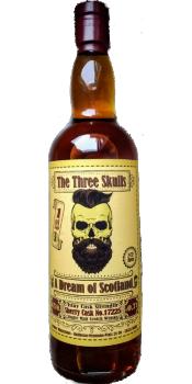 Unknown Islay BW - The Three Skulls No. Three
