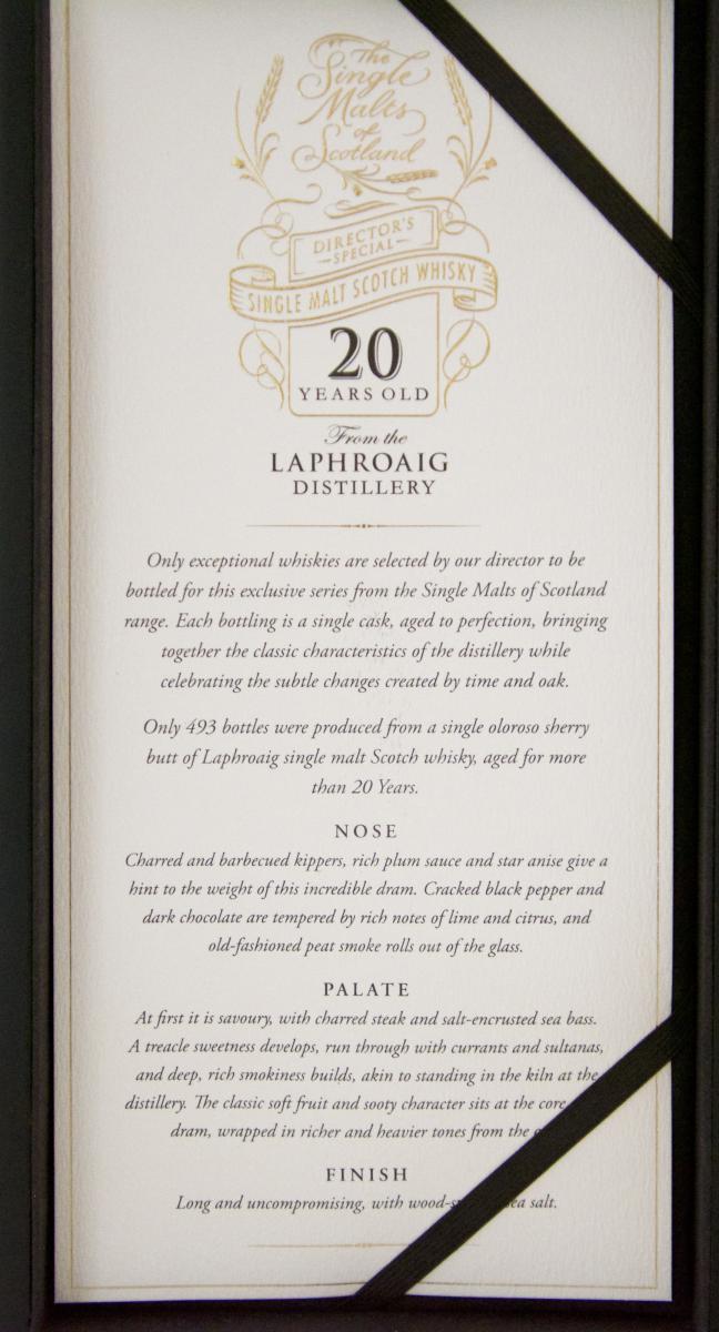 Laphroaig 20-year-old ElD