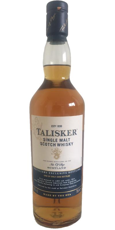 Talisker Distillery Exclusive Bottling