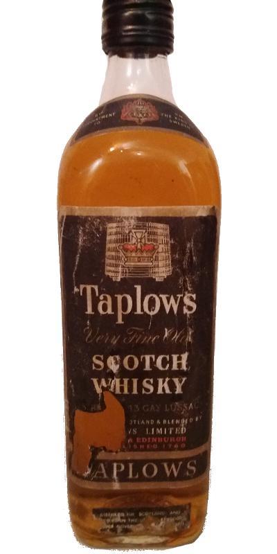 Taplows Very Fine Old Scotch Whisky