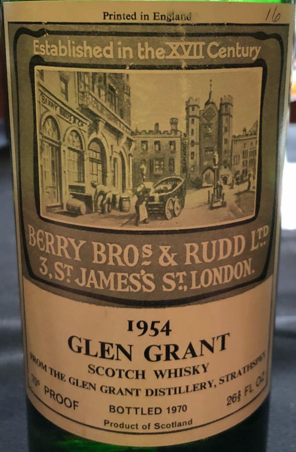 Glen Grant 1954 BR