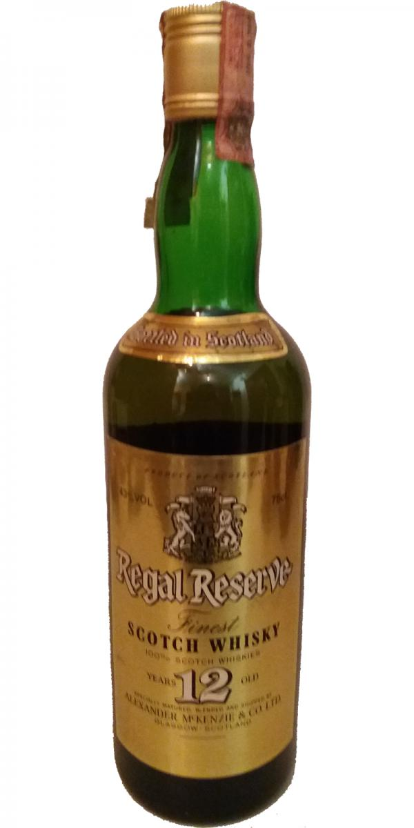 Regal Reserve 12-year-old