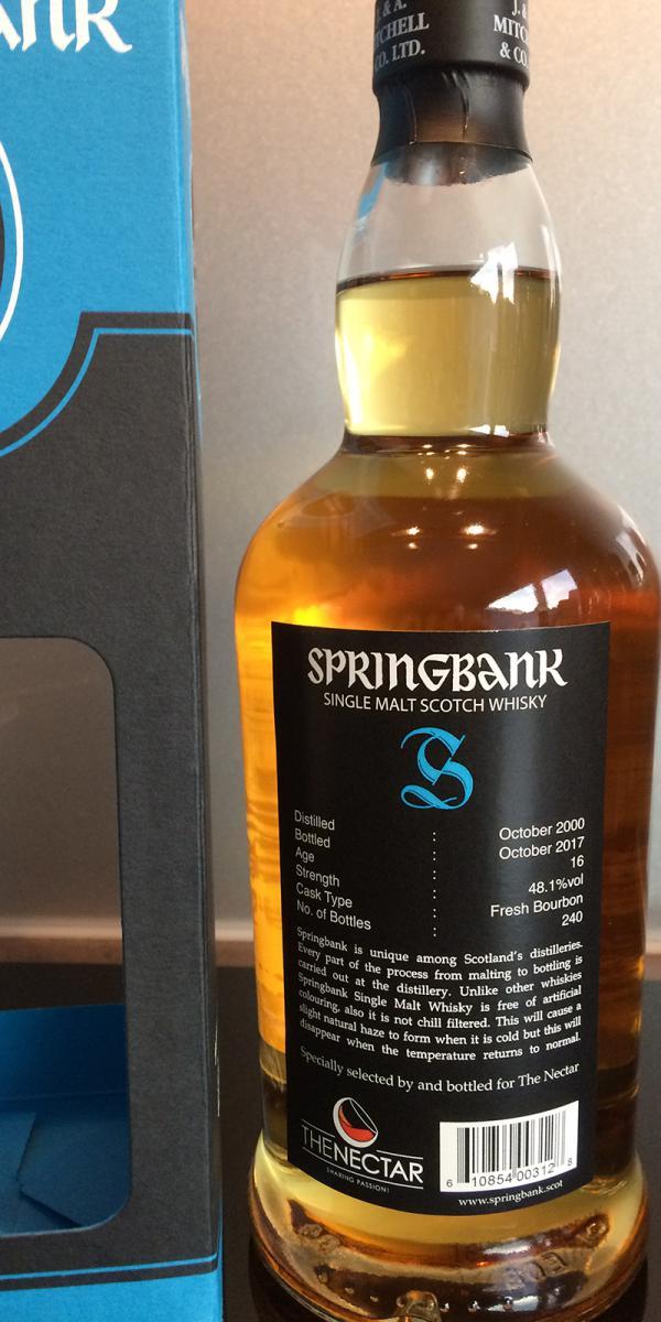 Springbank 16-year-old