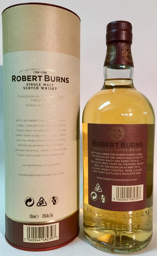Robert Burns Single Malt Scotch Whisky