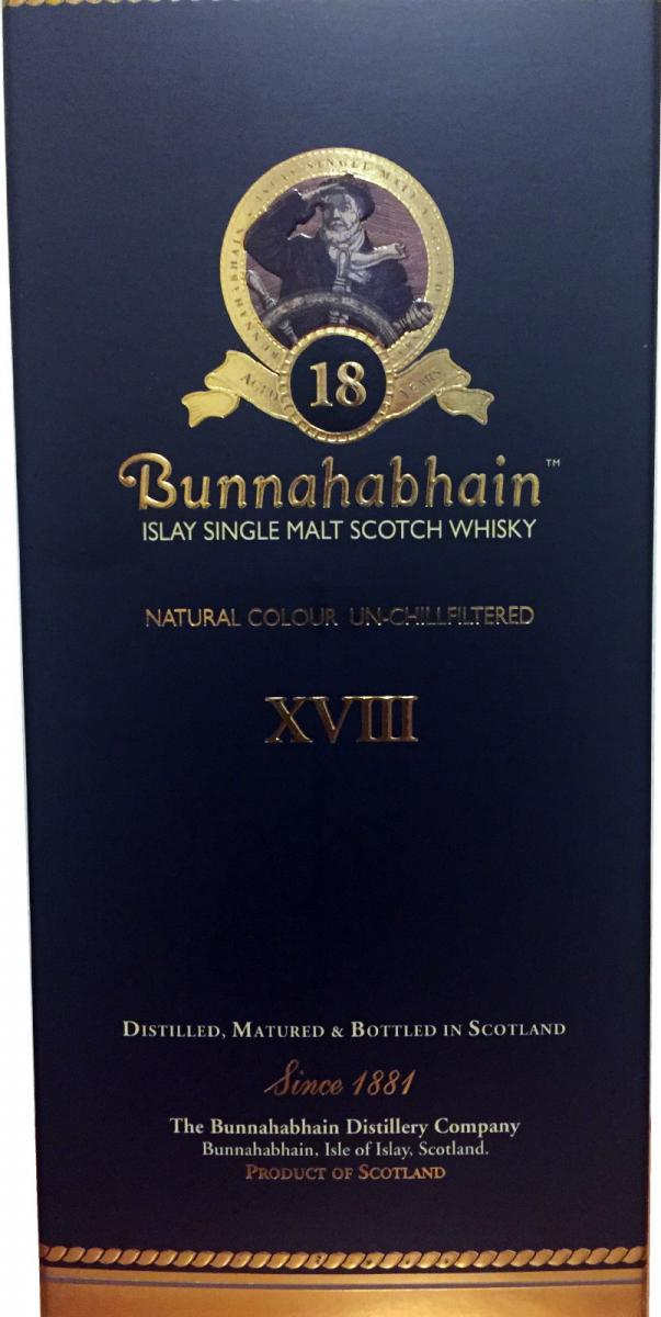 Bunnahabhain 18-year-old