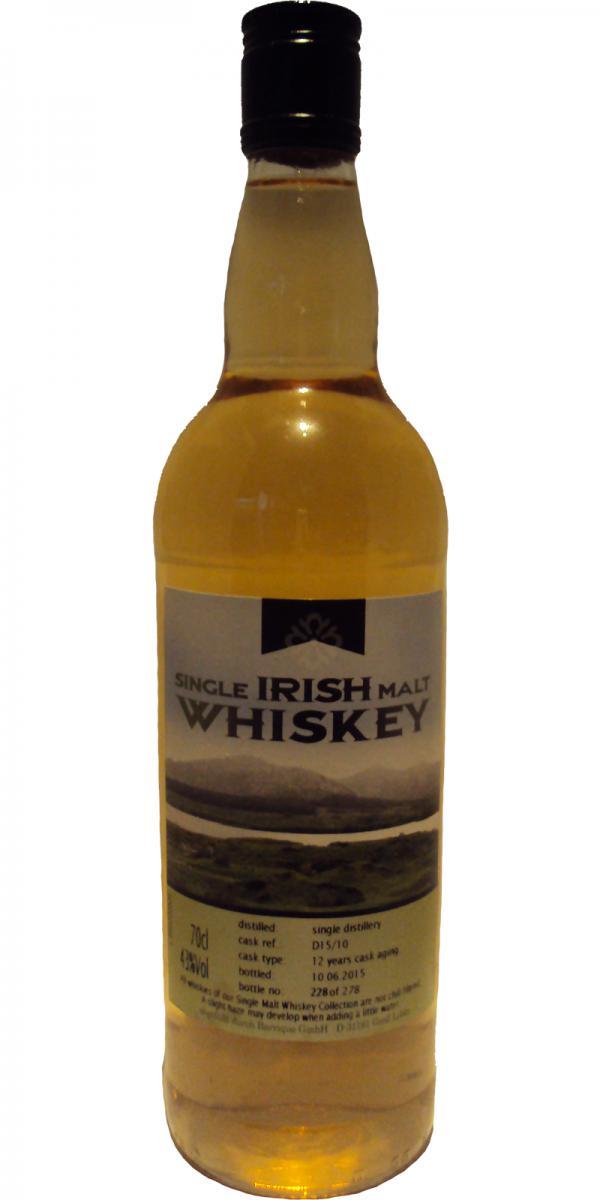 Single Irish Malt 12-year-old Bq