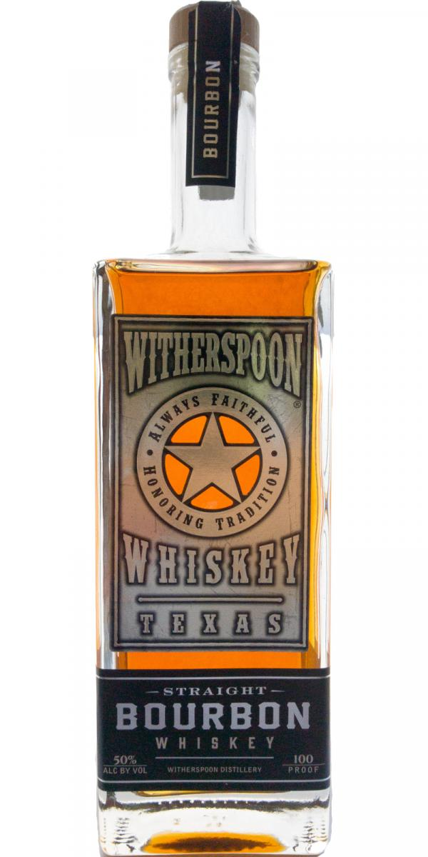 Witherspoon Straight Bourbon Whiskey