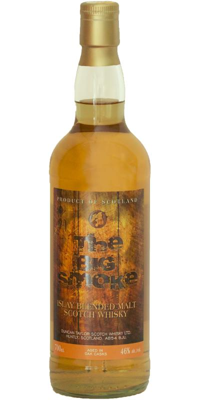 The Big Smoke Islay Blended Malt Scotch Whisky DT