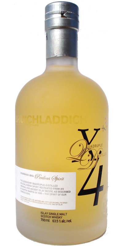 Bruichladdich X4+3 Quadrupled Distilled