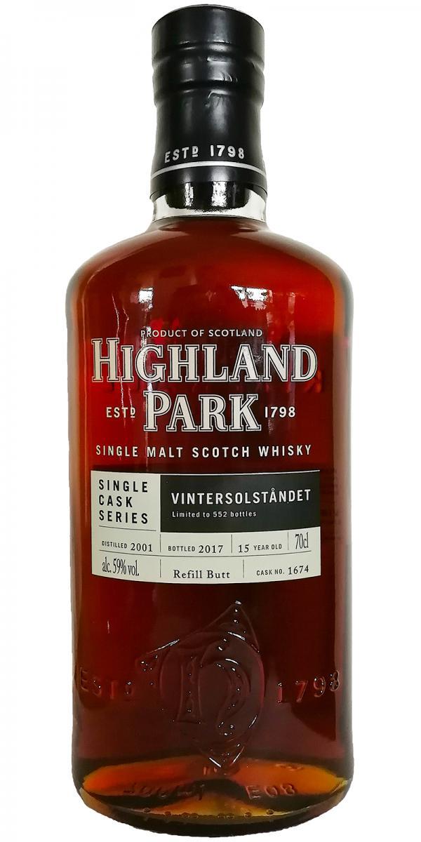 Highland Park 2001- Vintersolståndet