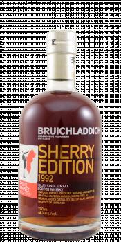 Bruichladdich 1992 Sherry Edition PX