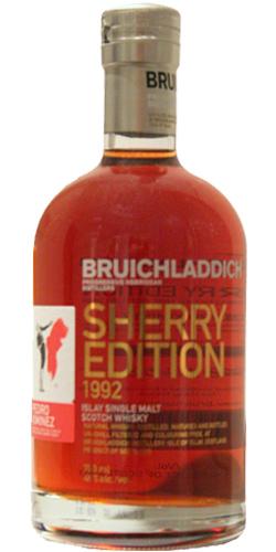 Bruichladdich 1992 Sherry Edition