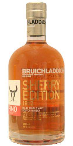 Bruichladdich 1992 Sherry Edition Fino