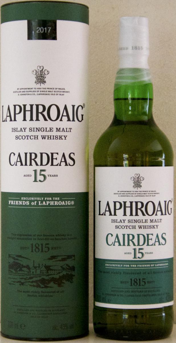 Laphroaig Cairdeas - 15-year-old