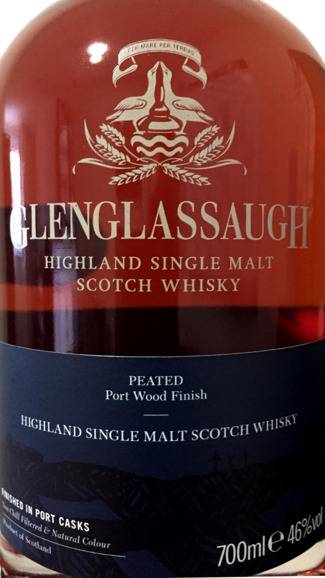 Glenglassaugh Peated - Port Wood Finish