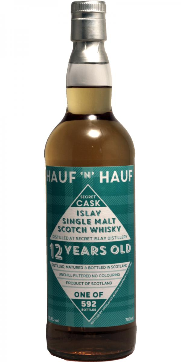 Secret Islay 12-year-old HWC