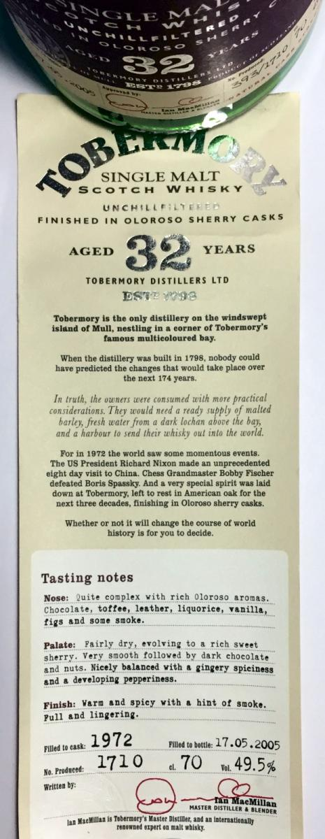 Tobermory 1972