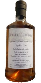 Speyside Distillery 1995 WhB