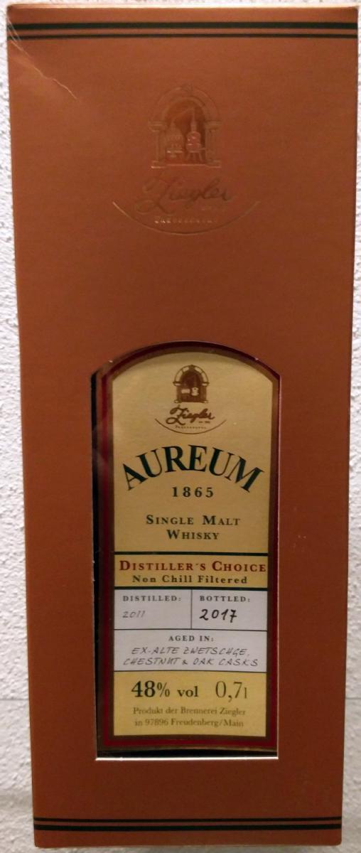 Aureum 1865 2011
