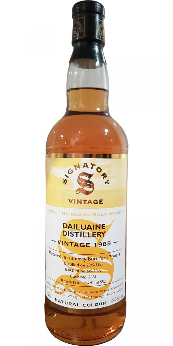 Dailuaine 1985 SV