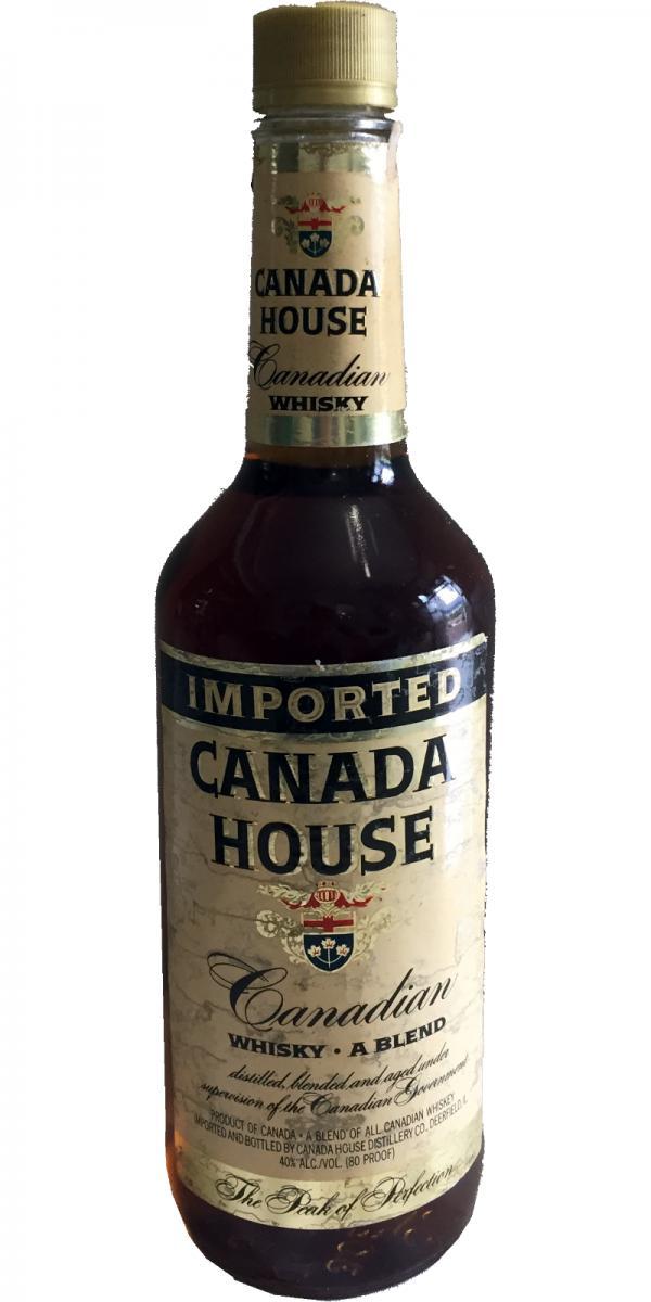 Canada House Canadian Whisky