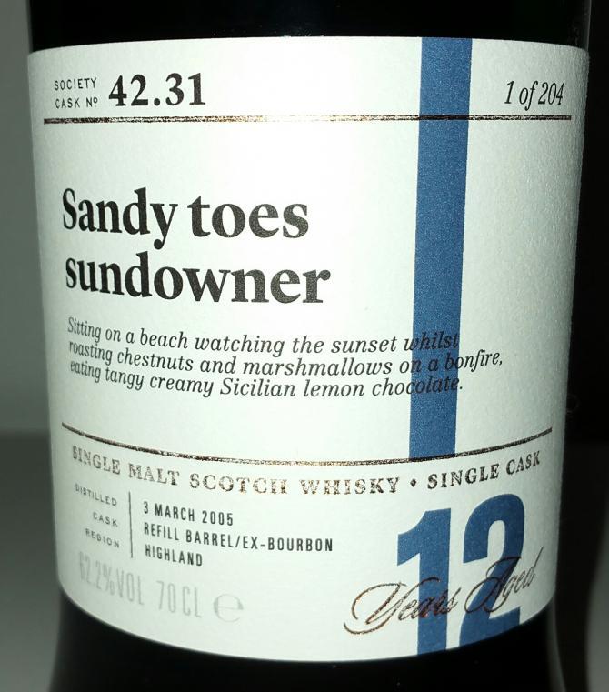 Tobermory 2005 SMWS 42.31