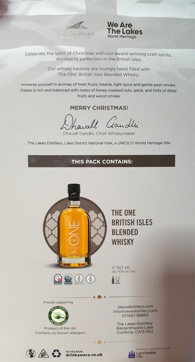 The One British Blended Whisky Bauble
