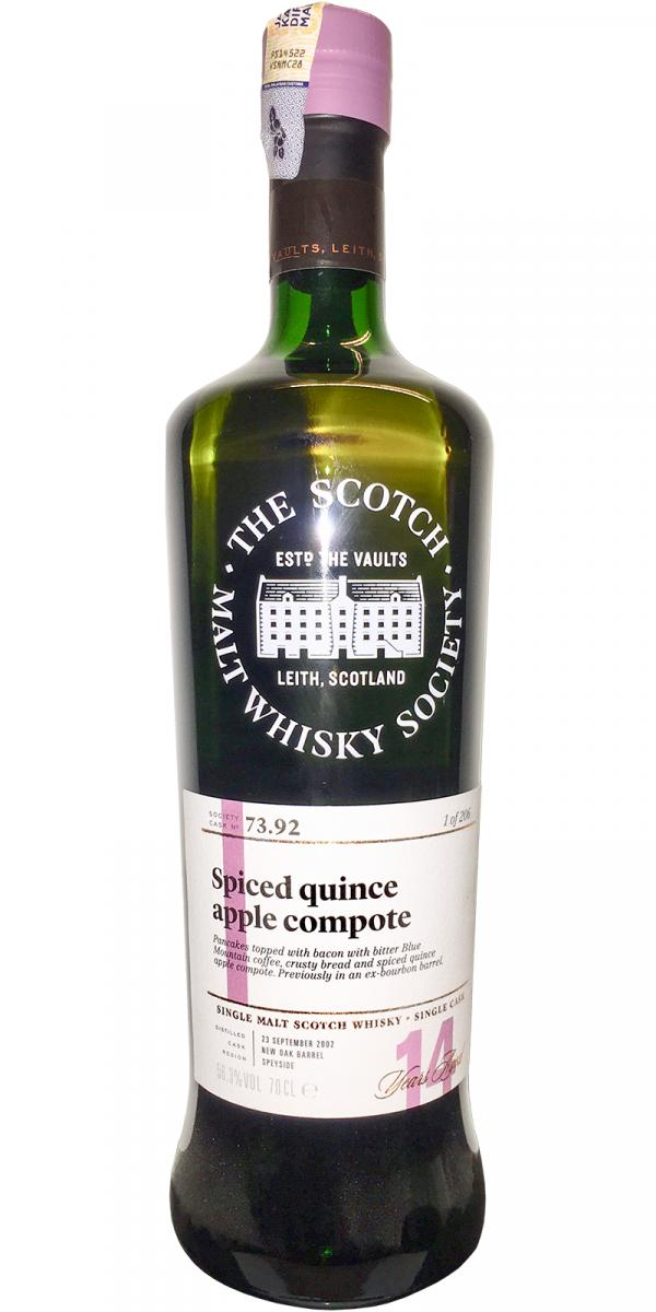 Aultmore 2002 SMWS 73.92