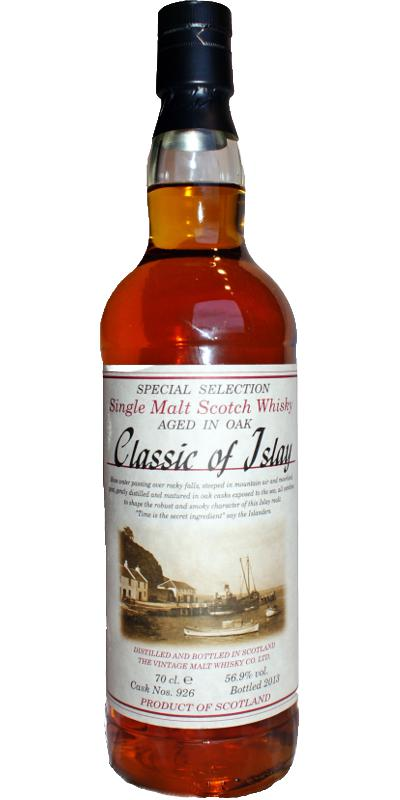 Classic of Islay Vintage 2013 JW